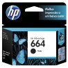 CARTUCHO HP ORIGINAL 664 BLACK